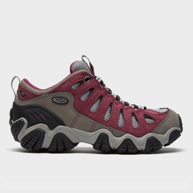 Oboz Oboz Womens Sawtooth Low Walking Shoe - Pink, Pink