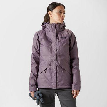 7f5b9fafaca5 Light Purple THE NORTH FACE Women s Inlux Insulated Jacket ...