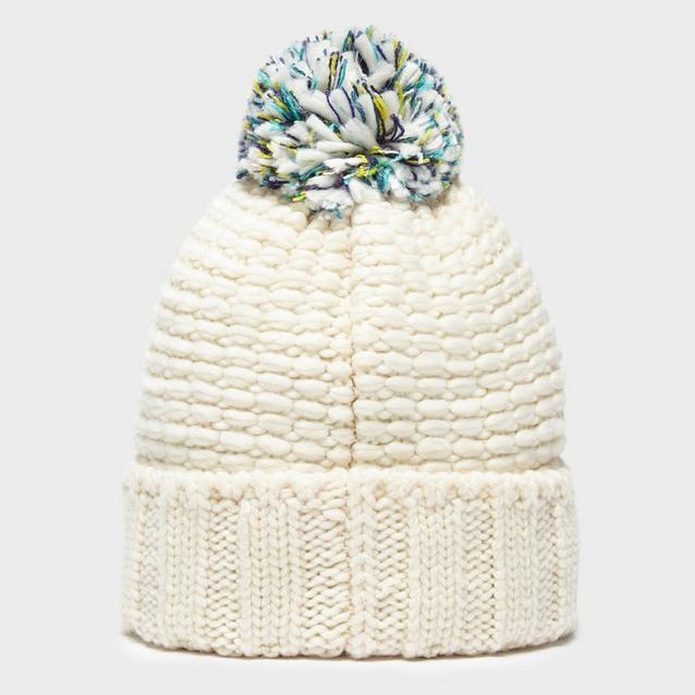 18fe4d5e836cf Cream THE NORTH FACE Women s Cosy Bobble Hat image 2