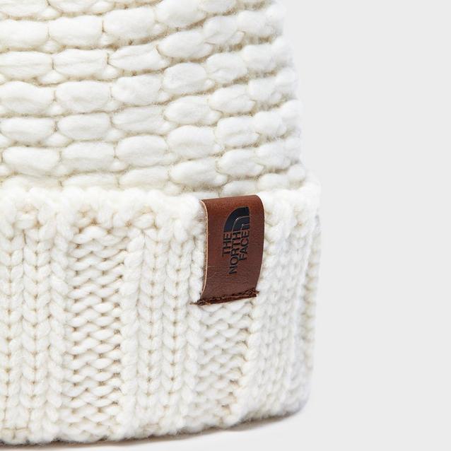 d4957633a52 Cream THE NORTH FACE Women s Cosy Bobble Hat image 3