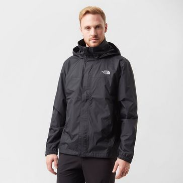 Black THE NORTH FACE Men s Resolve 2 Waterproof Jacket ... a3cdd4c6a