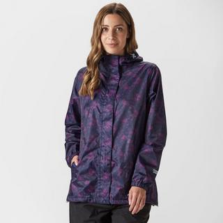 Women's Patterned Packable Jacket