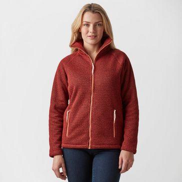 601b45ebb685b Dark Red CRAGHOPPERS Women's Jasmine Fleece Jacket ...