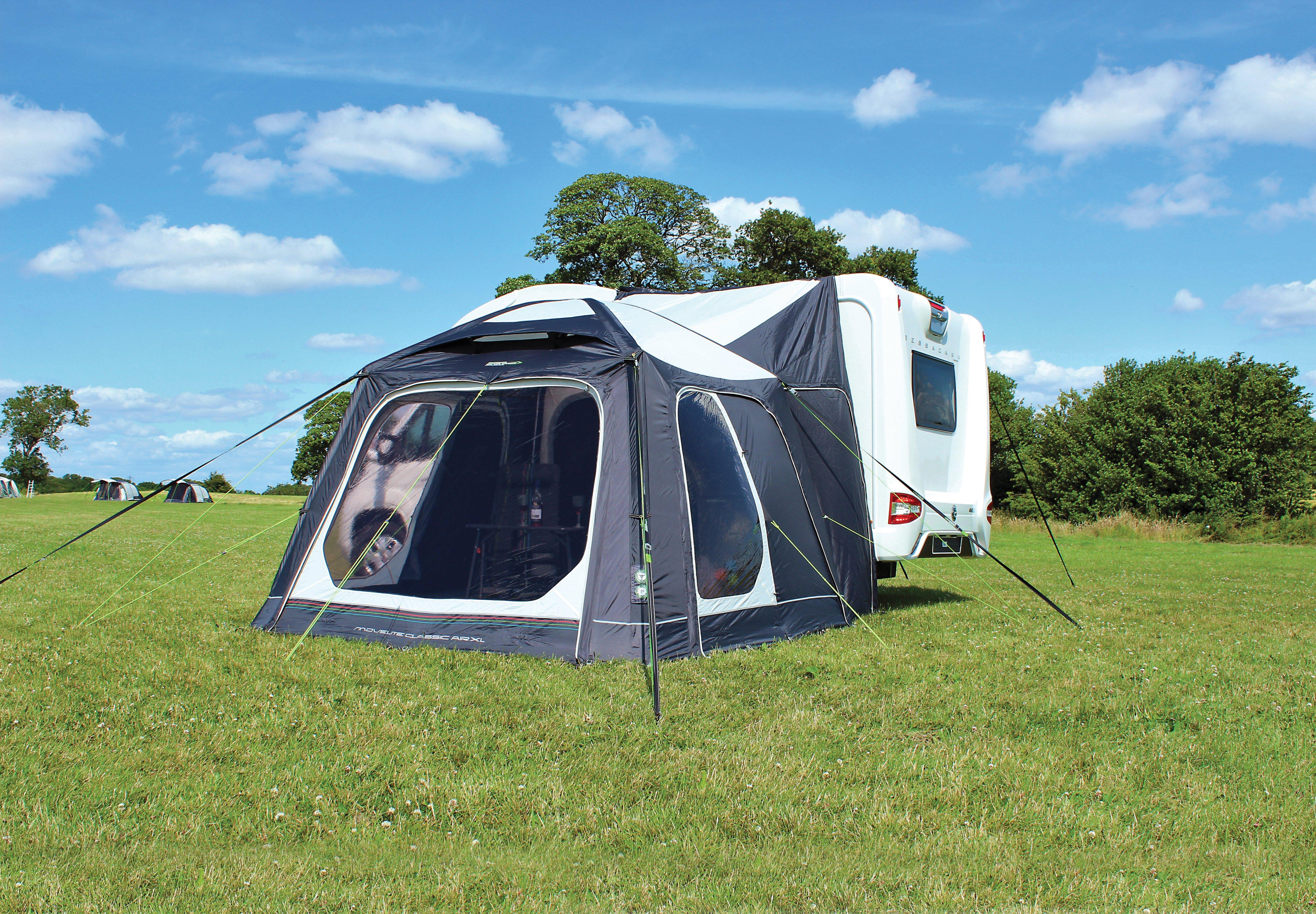Movelite Air Classic Driveaway Awning  sc 1 st  Millets & Tent Extensions Canopies u0026 Annexes | Millets