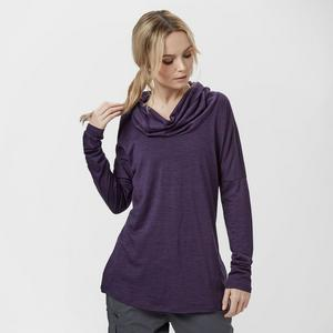 ICEBREAKER Women's Aria Long Sleeve Funnel Top