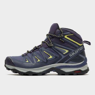 564935707cd1e3 Dark Blue Salomon Women s X Ultra 3 GORE-TEX® Hiking Boot ...