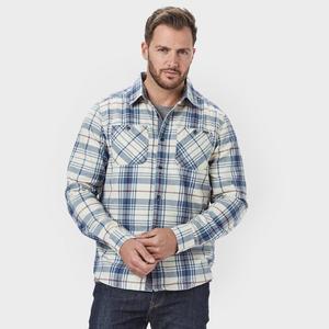 WEIRD FISH Men's Ezra Long Sleeve Shirt