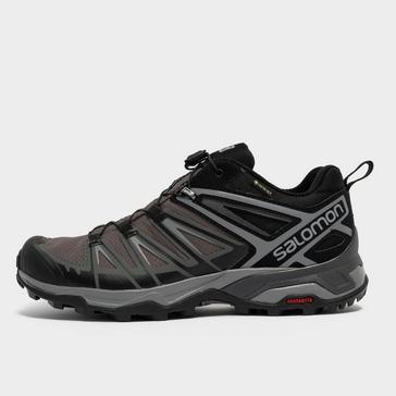 Grey|Grey Salomon Men's X Ultra 3 GORE-TEX® Shoes