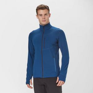 ICEBREAKER Men's Descender Long-Sleeve Zip Midlayer