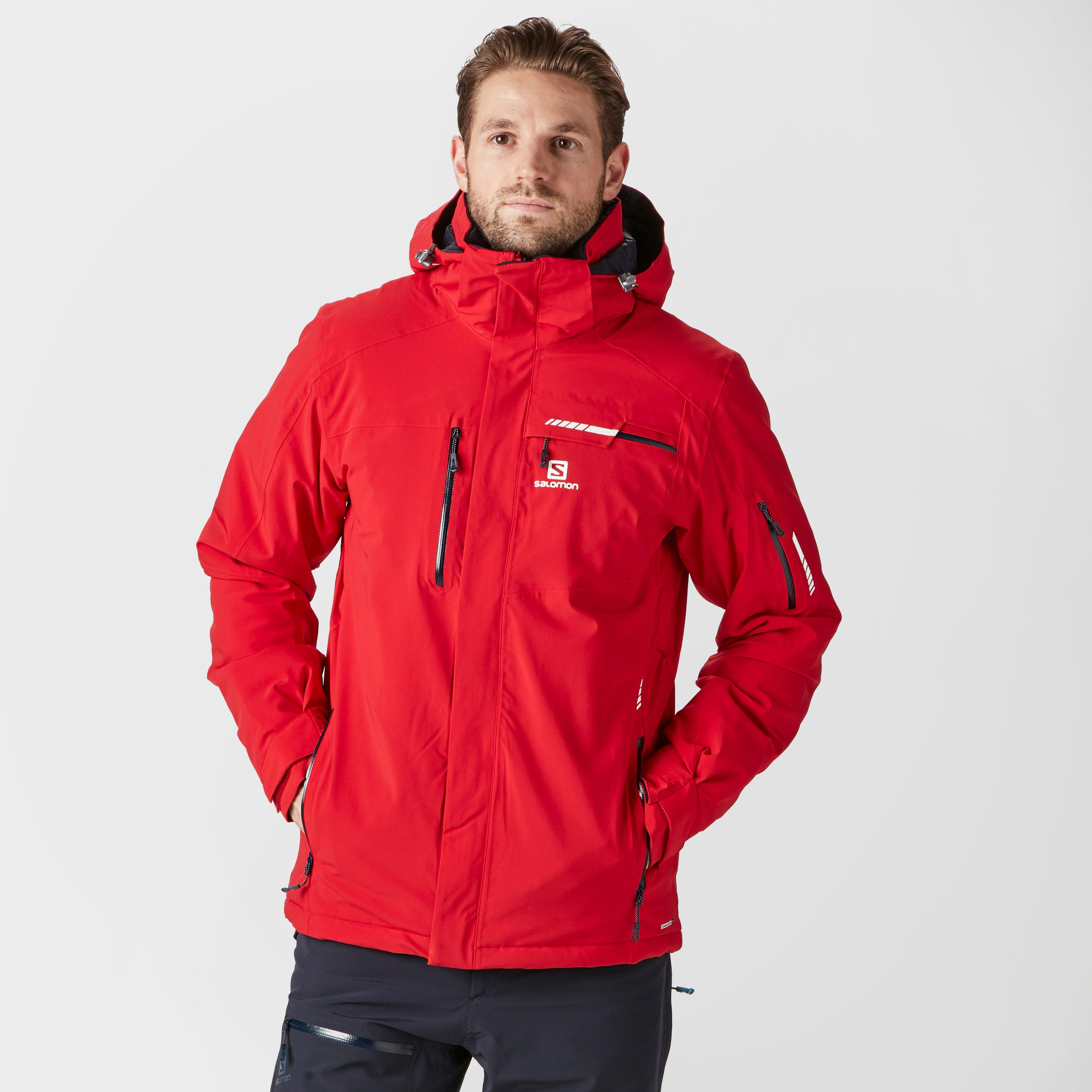 Salomon brilliant ski jacket review