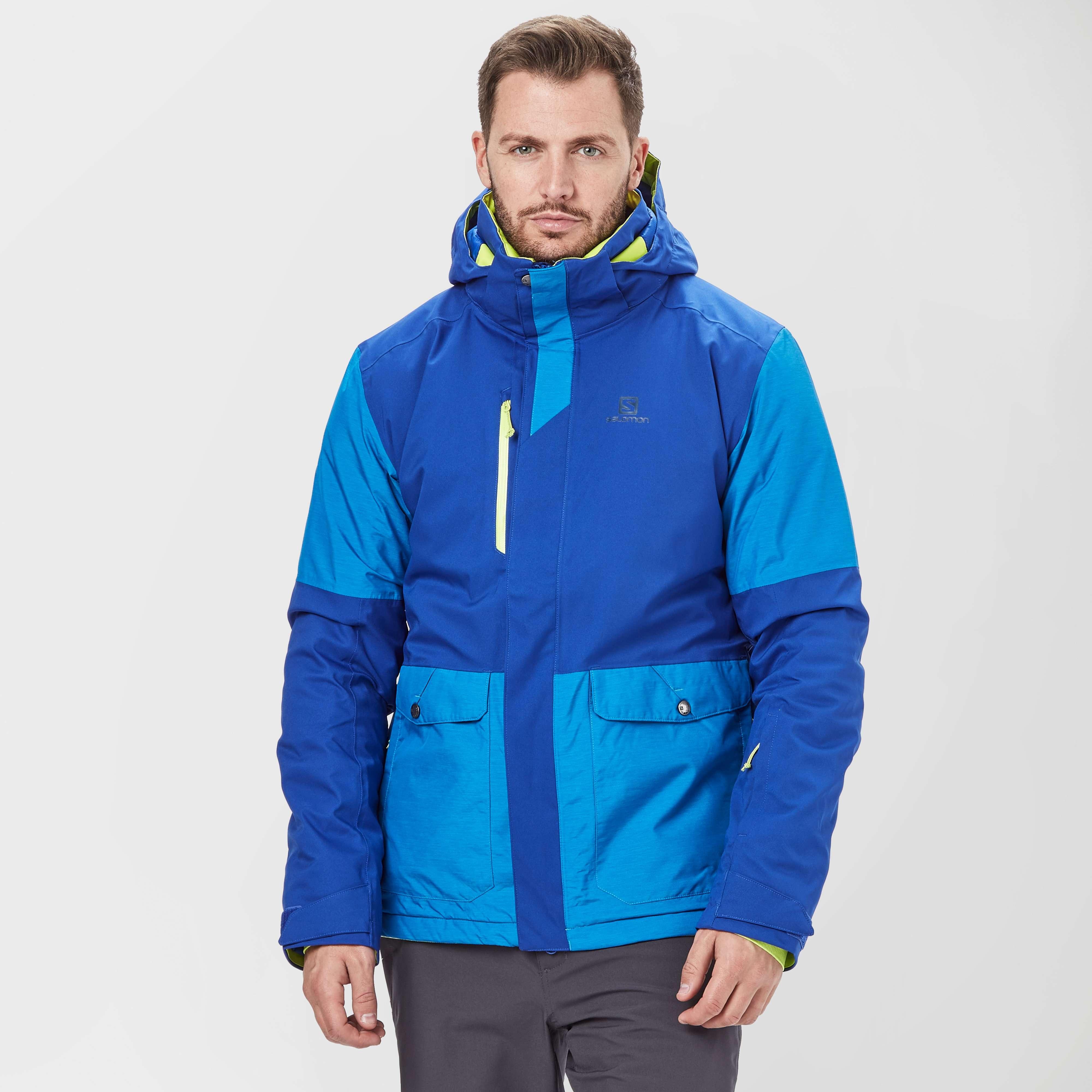 SALOMON Men's Stormtrack Ski Jacket