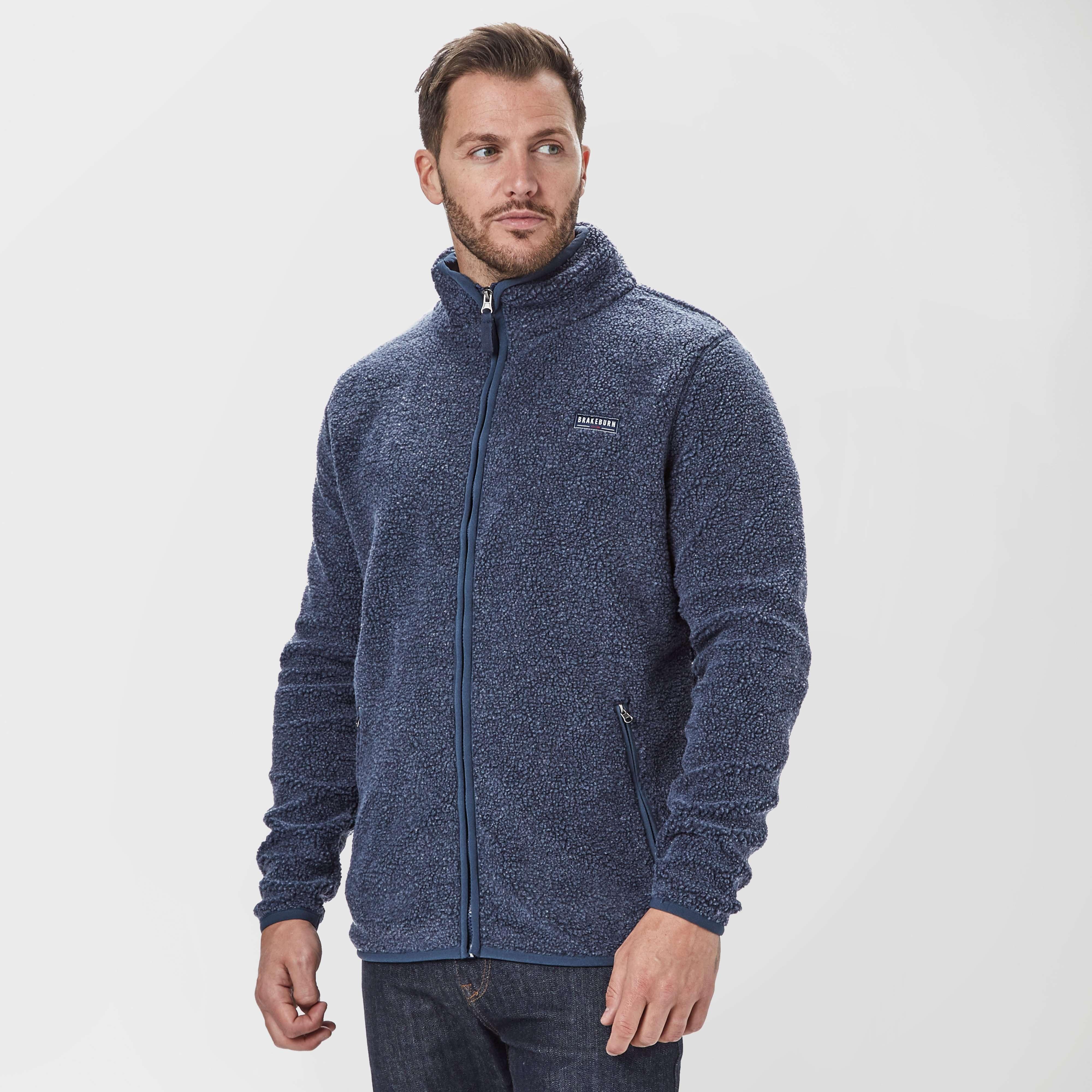 BRAKEBURN Men's Full-Zip Fleece