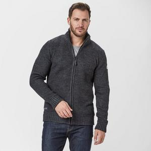 BRAKEBURN Men's Zip Through Knit