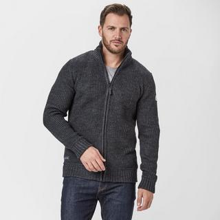 Men's Zip Through Knit
