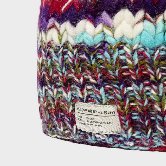 12dde1fe6 Women's Rainbow Bobble Hat