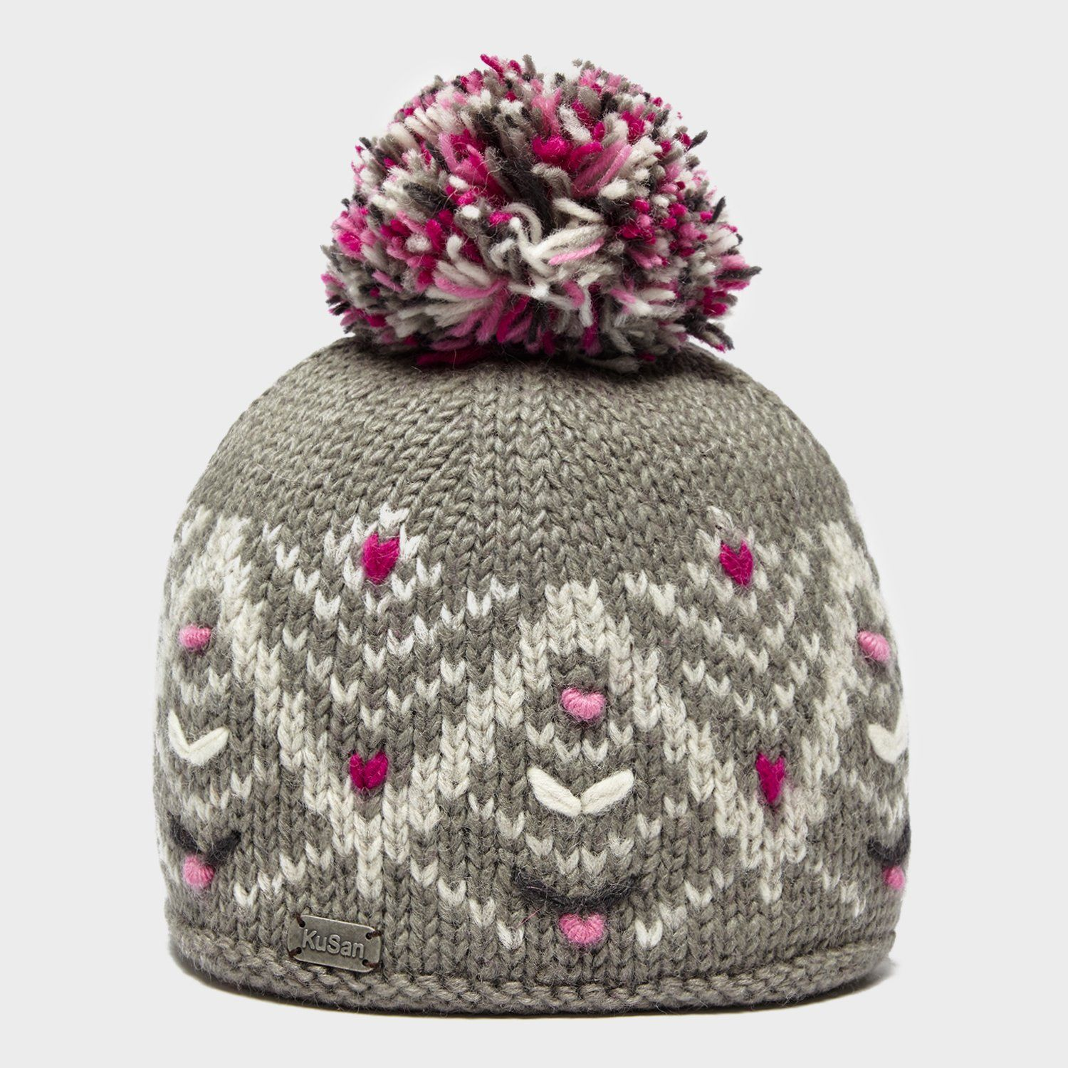 KUSAN Women's Pretty Bobble Hat