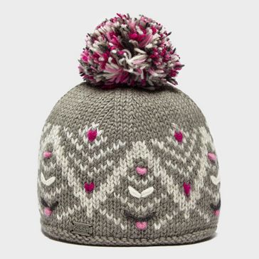 51f8ff2cee506 Grey KUSAN Women s Pretty Bobble Hat ...