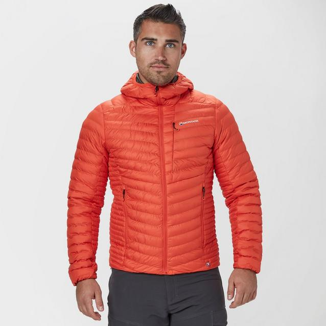 8a34b5a50035 Orange MONTANE Men's Icarus Insulated Jacket image 1
