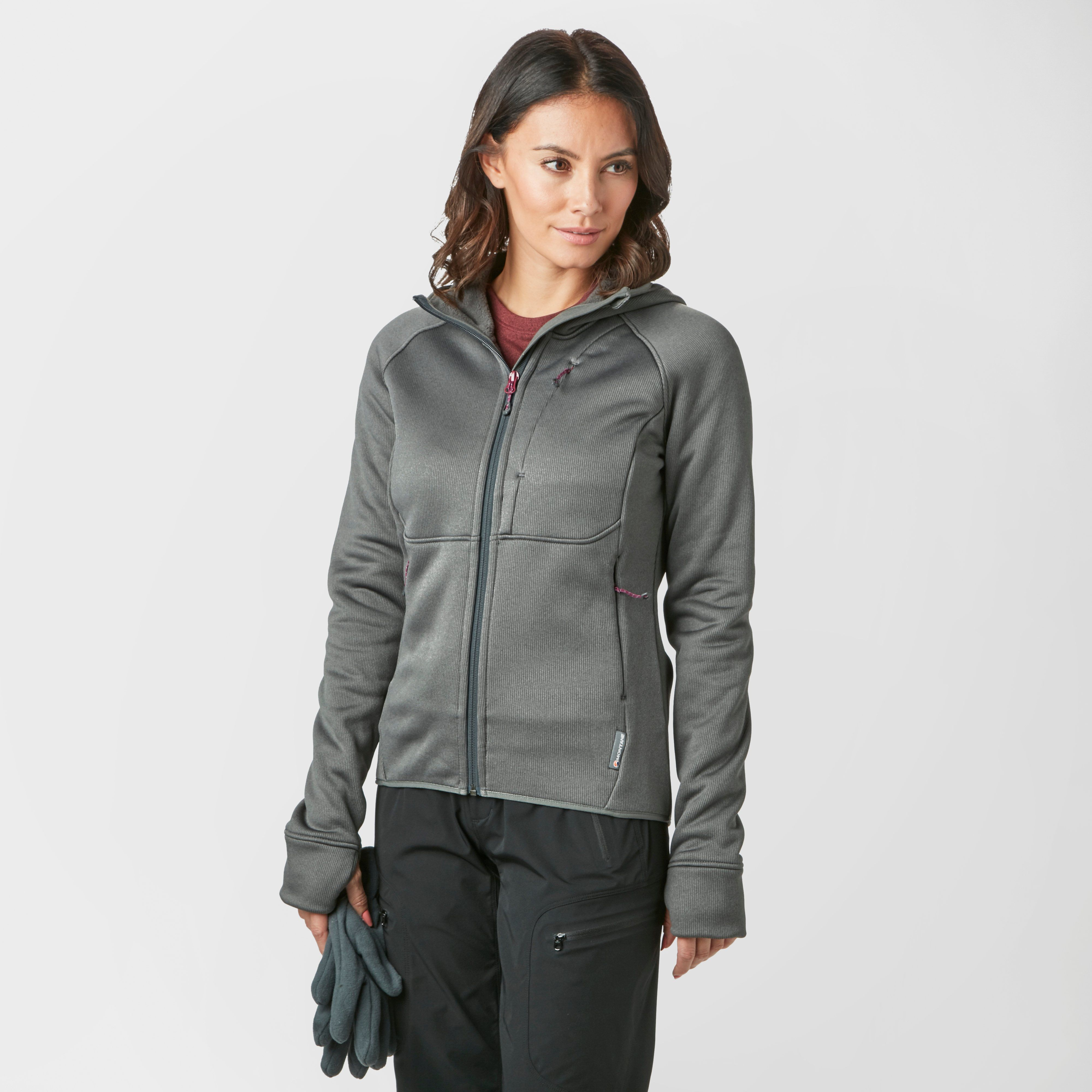 MONTANE Women's Moraine Hooded Mid-Layer