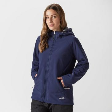 Navy Peter Storm Women's Highloft Softshell Jacket