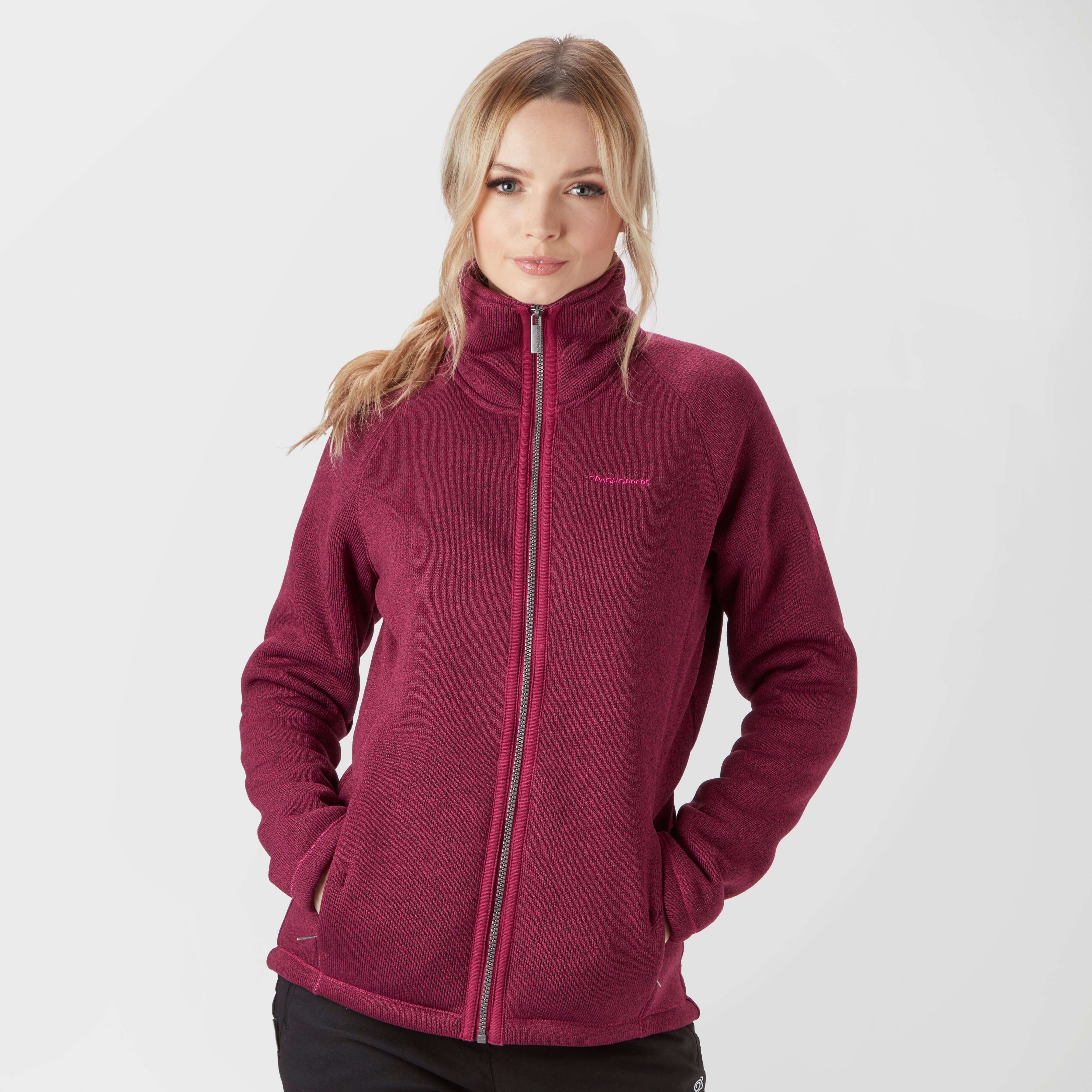 CRAGHOPPERS Women's Mary Borg Full-Zip Fleece