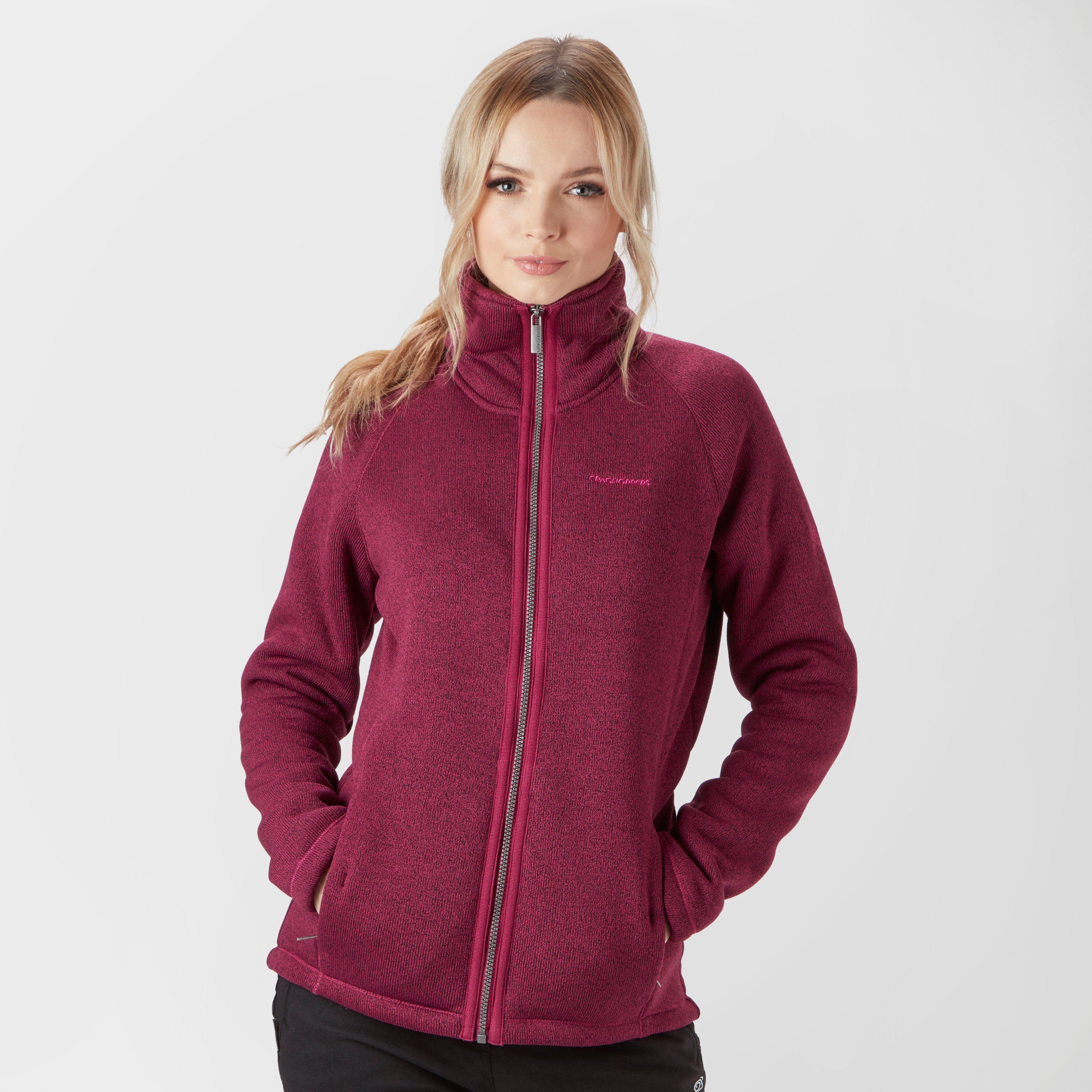 CRAGHOPPERS Women's Mary Borg Full-Zip Fleece