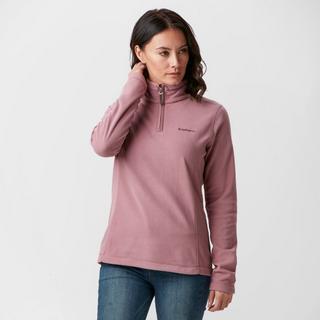 Women's Bleaberry Half Zip Fleece