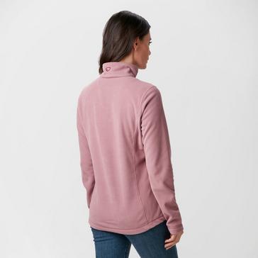 Pink Brasher Women's Bleaberry II Half-Zip Fleece