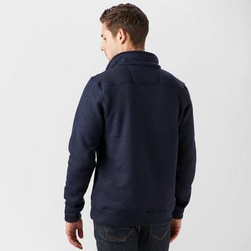 Navy Brasher Men's Rydal II Half Zip Fleece