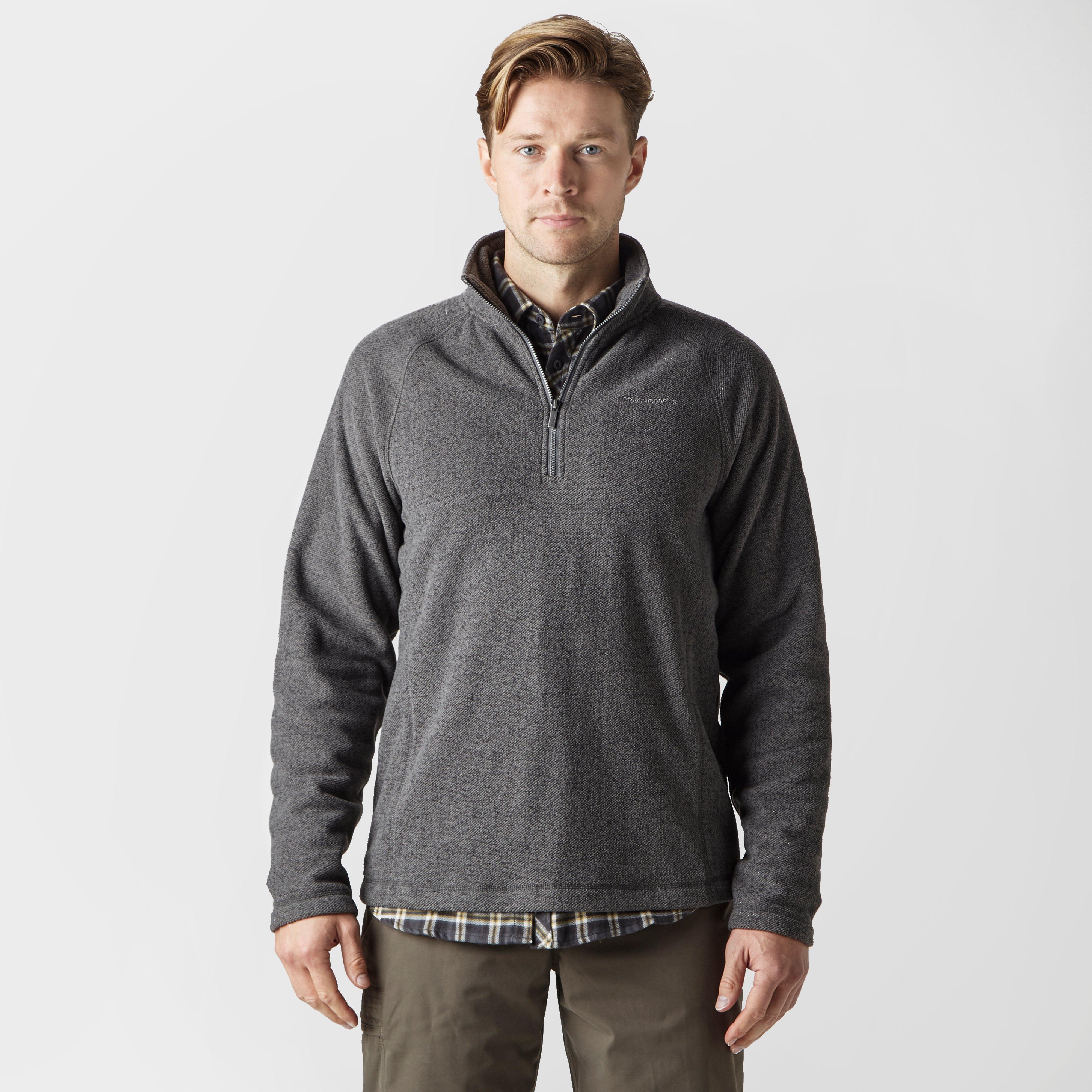 Craghoppers Craghoppers Mens Tindall Half-Zip Fleece - Grey, Grey