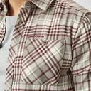 Dark Grey Craghoppers Men's Bjorn Long Sleeve Check Shirt image 4