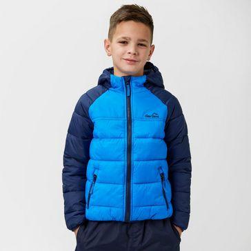 cbf3bf5664f34c Navy PETER STORM Kids' Billy Baffle Jacket ...