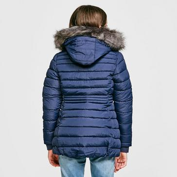 Navy Peter Storm Girl's Lizzy Parka