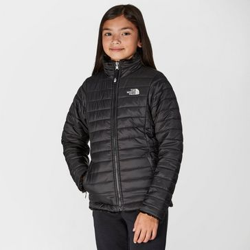 a7f0191f5e Black THE NORTH FACE Kids  Reversible Mossbud Swirl Jacket ...