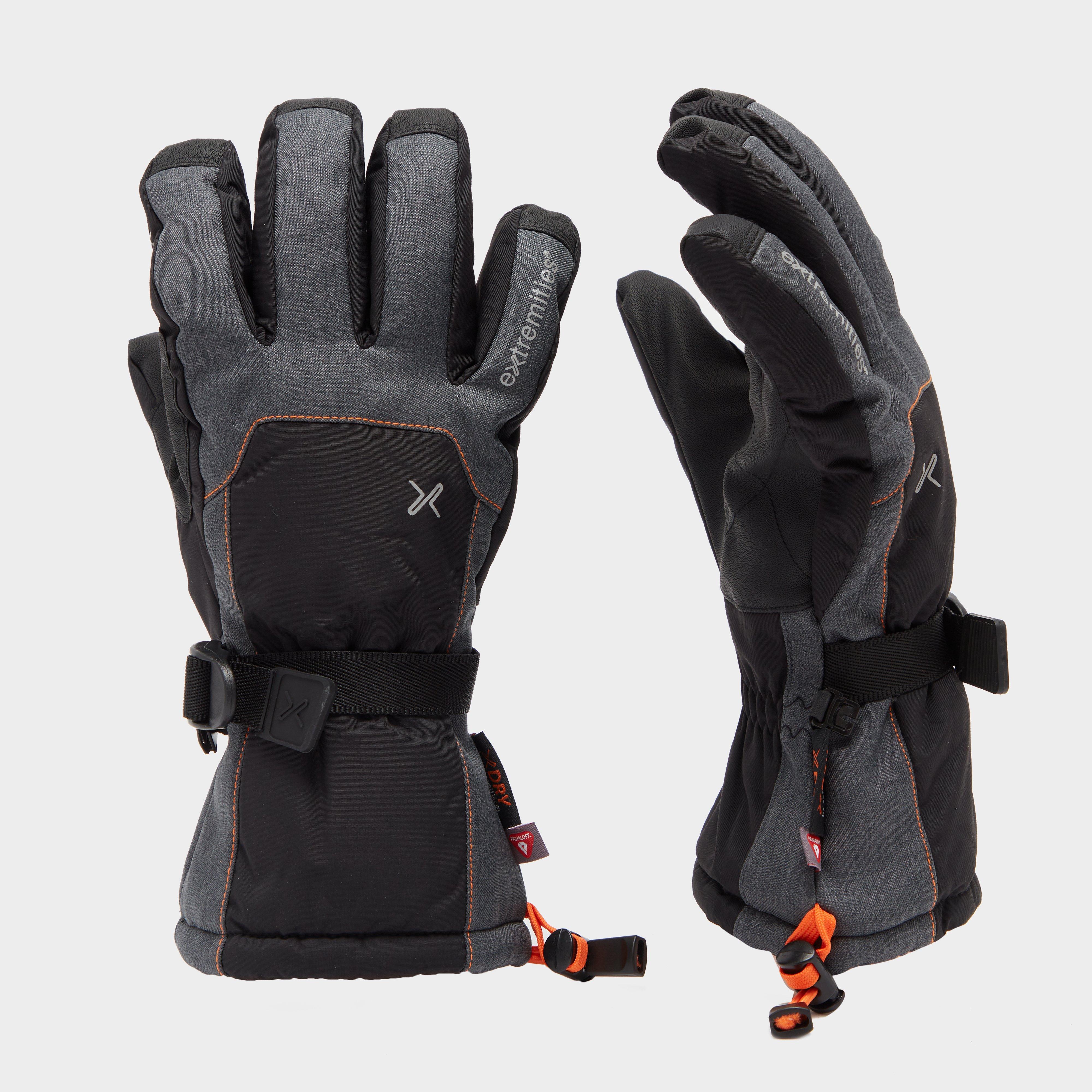 Extremities Extremities Mens Torres Peak Ski Gloves - Grey, Grey