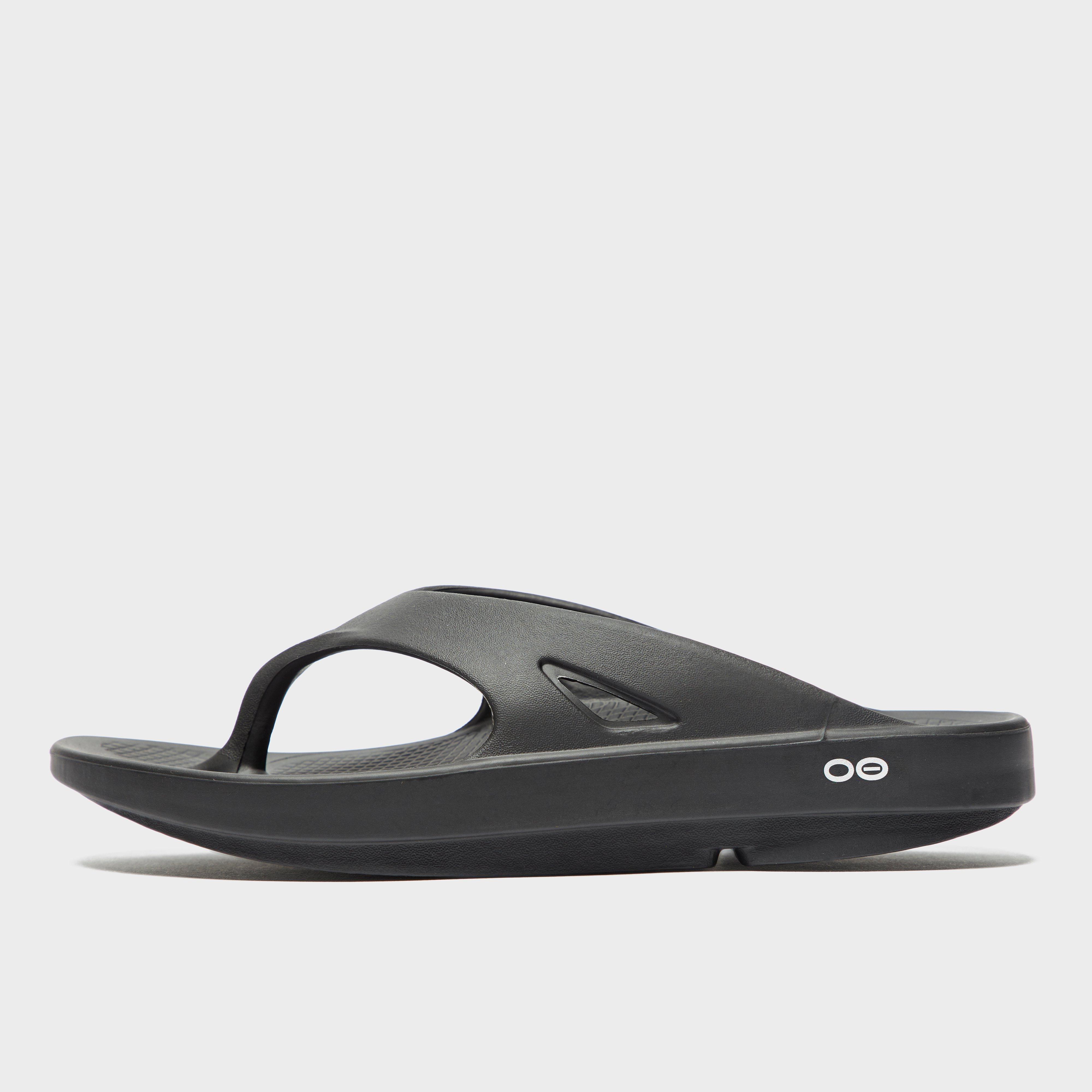 75a0df1446b Black OOFOS Men s OOriginal Flip Flops image 1