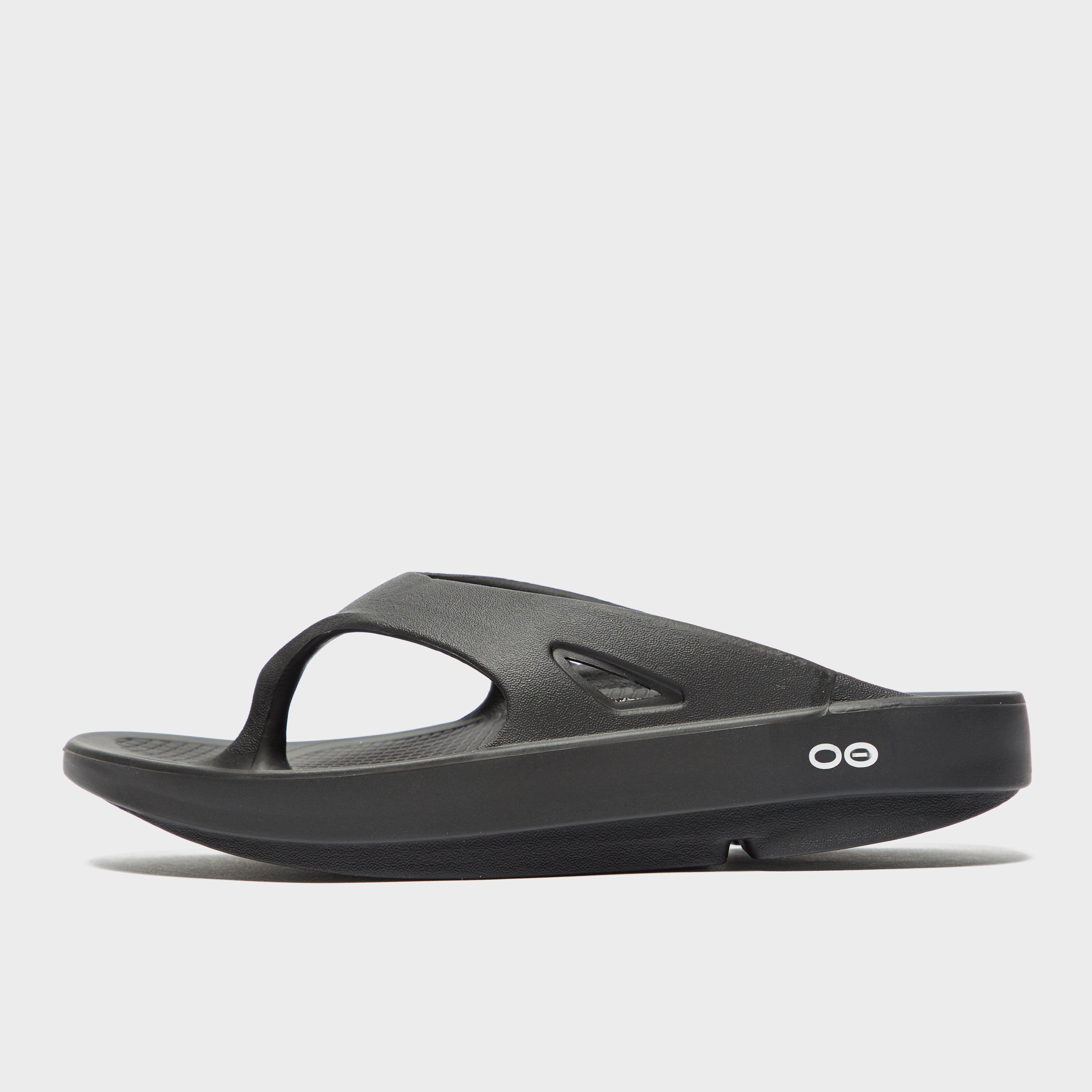 Oofos Oofos Womens OOriginal Flip Flops - Black, Black