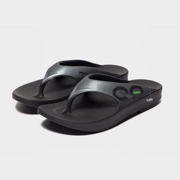 4f1051394 Black OOFOS Men s OOriginal Sport Flip Flop