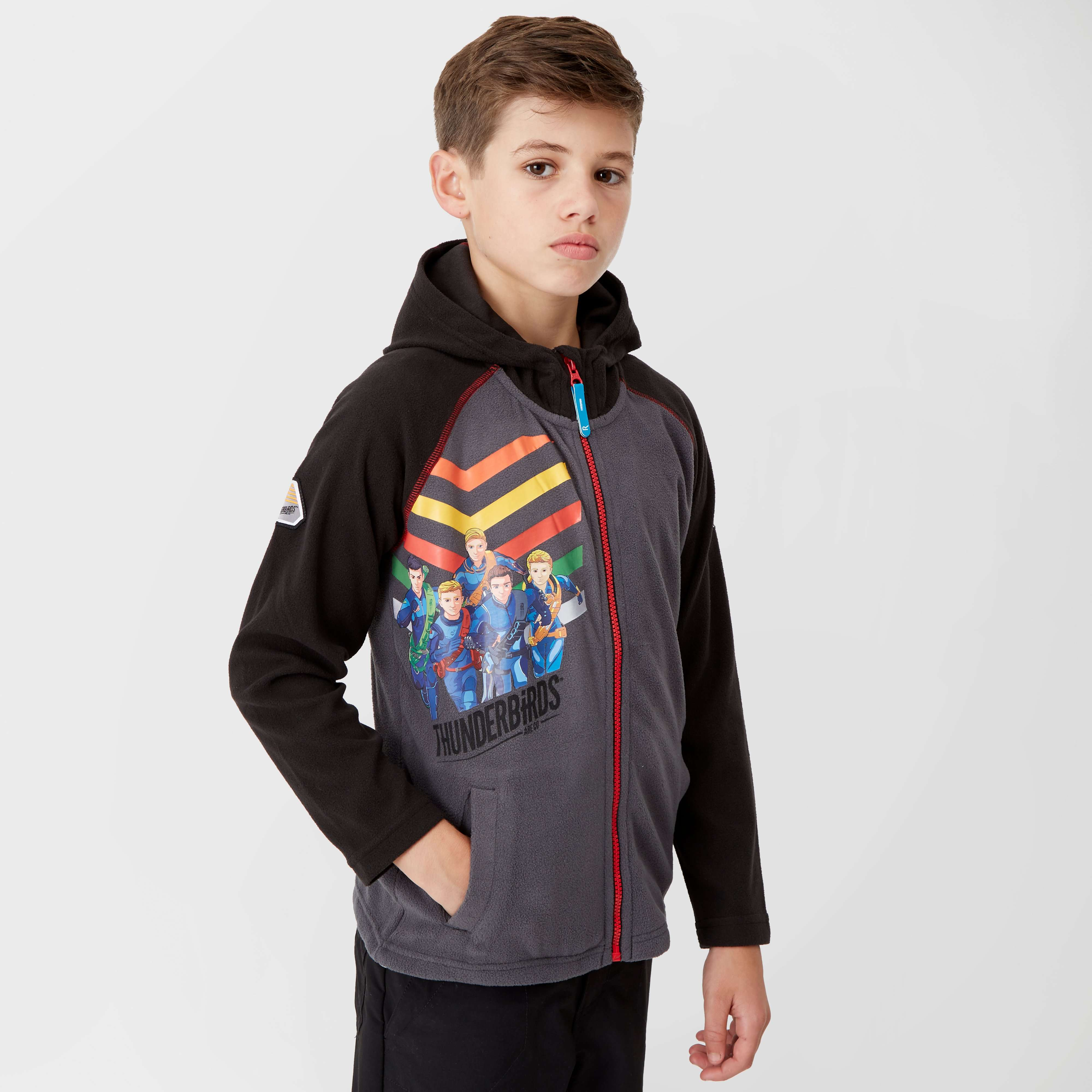REGATTA Kids' Thunderbirds Are Go Hyperspeed Full-Zip Hooded Fleece