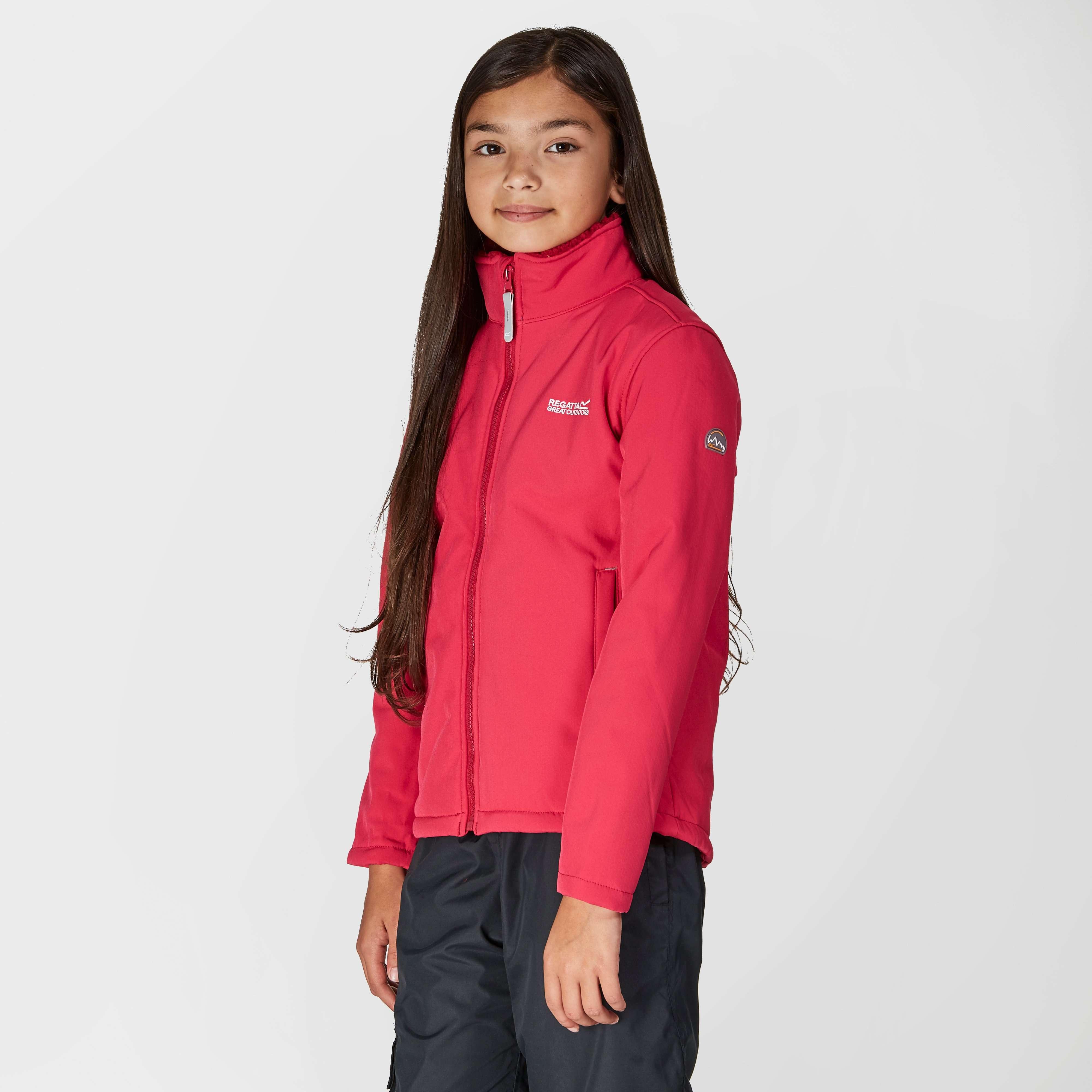 REGATTA Girl's Tato IV Softshell Jacket