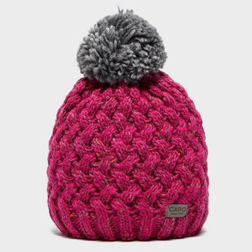 a508113bb08 Pink CAPO Women s Poppy Bobble Hat