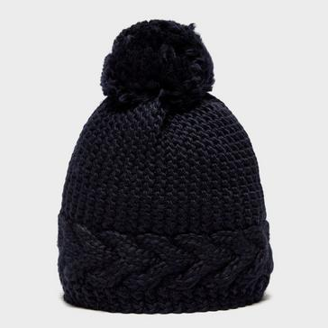 Navy Capo Women's Flora Bobble Hat