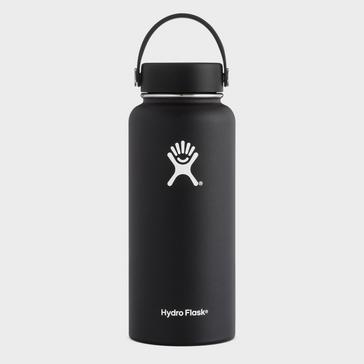 Black Hydro Flask 32oz Wide Mouth Flask