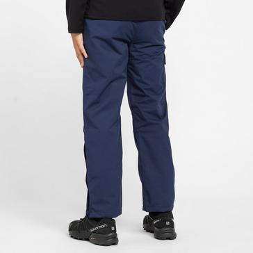 Navy Peter Storm Kids' Storm II Waterproof Trousers