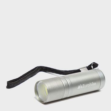 Silver EUROHIKE 3W Cob LED Torch 50aabdd86