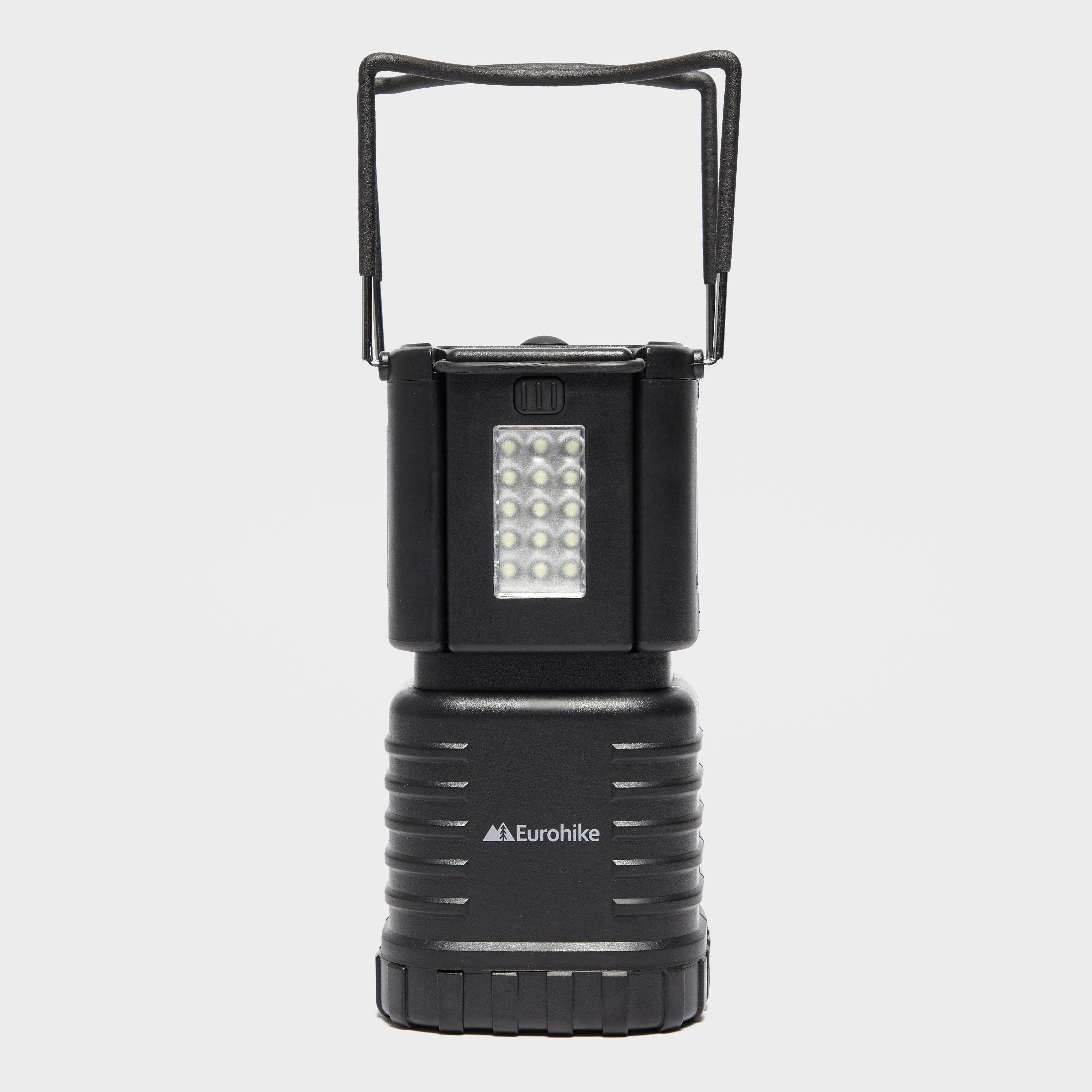 Eurohike Eurohike 66 LED Lantern + 2 Torches - Black, Black
