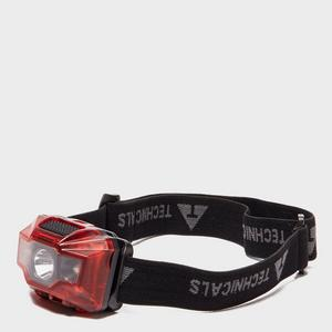 TECHNICALS 3W + 2 LED Rechargeable Head Torch