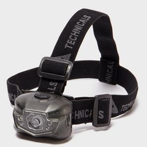 TECHNICALS 3W + 4LED Head Torch
