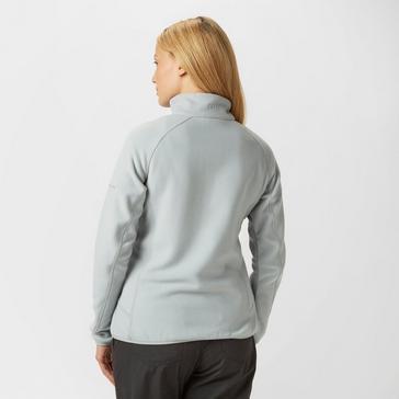 Dark Grey Berghaus Women's Hartsop Half-Zip Fleece