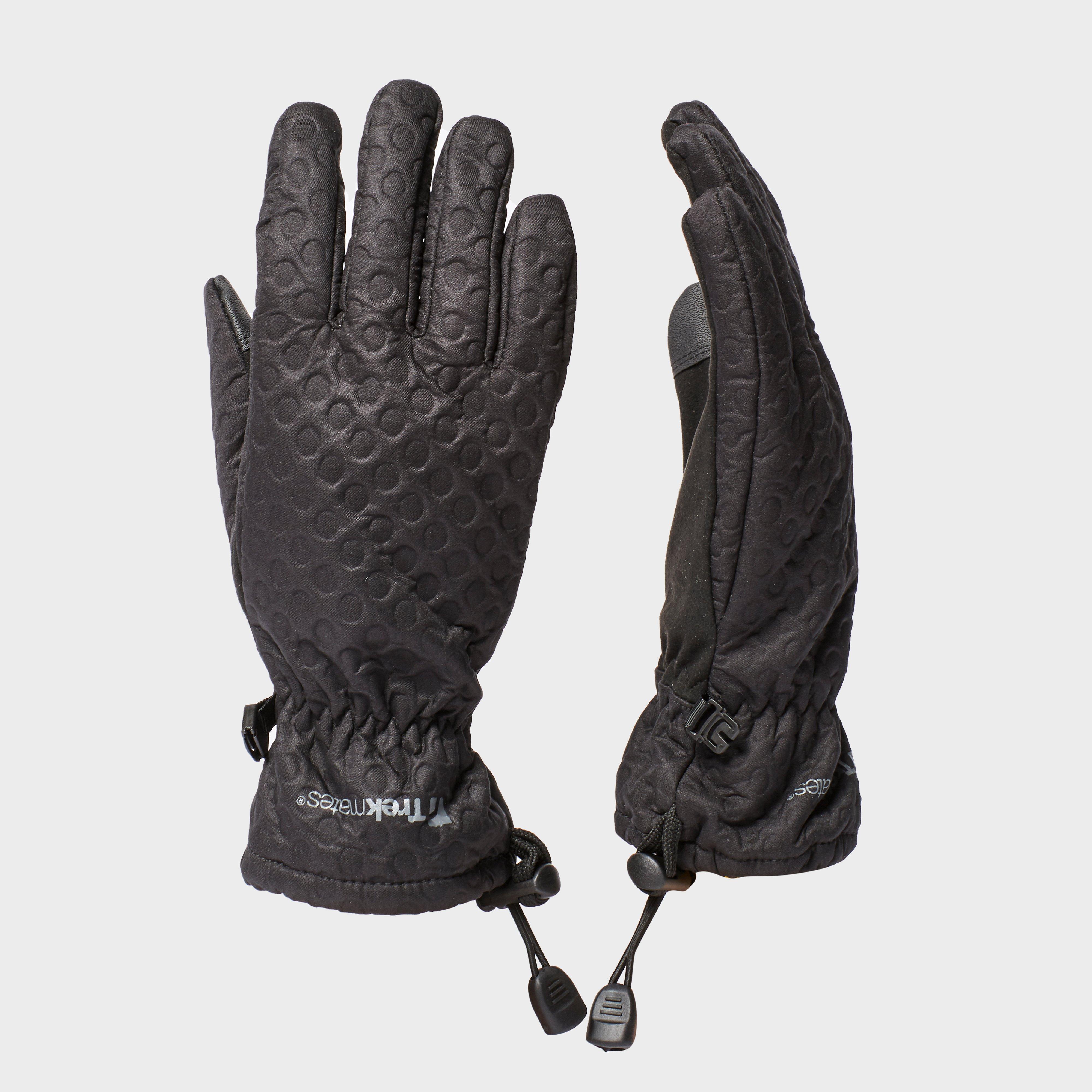 Trekmates Trekmates Womens Keska Softshell Glove - Black, Black